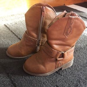 Baby girl boots Size 6